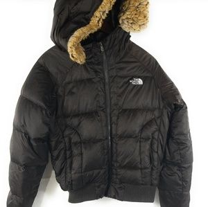 Women's The North Face Brown 550 Fill Down M